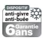 Miroir Agglo/Routier INOX anti-givre et buée  - 10