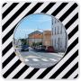 Miroir Agglo/Routier INOX anti-givre et buée VIALUX - 10