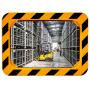 Miroirs industriels P.A.S / POLYMIR - Cadre jaune et noir  - 2