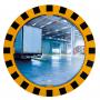 Miroirs industriels P.A.S / POLYMIR - Cadre jaune et noir  - 5