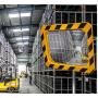 Miroirs industriels P.A.S / POLYMIR - Cadre jaune et noir  - 3